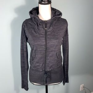 Athleta grey zip-up hoodie Sz. XS